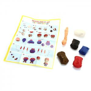 3D Colored Modeling Clay DIY Toy for Reducing Stress -