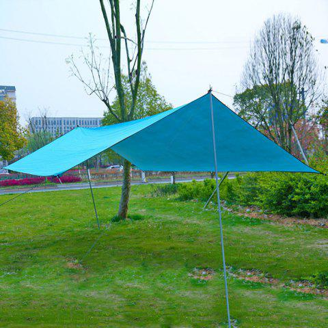Sale 300 x 445cm Simple Waterproof UV Resistant Sun Shelter Camping Tent Velarium - LAKE BLUE  Mobile