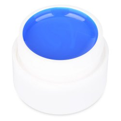 36 Pure Color UV Gel Nail Art DIY Decoration for Nail Manicure Gel Nail Polish Extension - BRIGHT BLUE