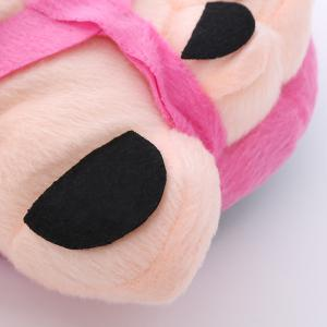 Soft Plush Cute Big Feet Pattern Novelty Slippers -