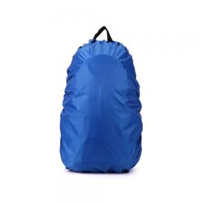 55 - 60L Dustproof Backpack Cover Water Resistant Camping Accessories - Blue