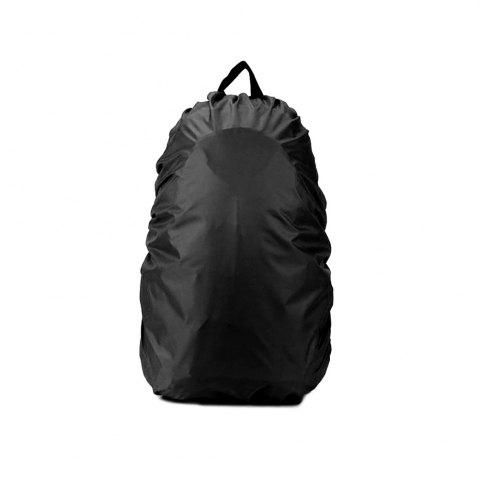 Hot 55 - 60L Dustproof Backpack Cover Water Resistant Camping Accessories - BLACK  Mobile
