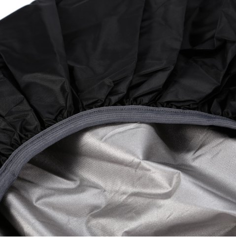 New 55 - 60L Dustproof Backpack Cover Water Resistant Camping Accessories - BLACK  Mobile