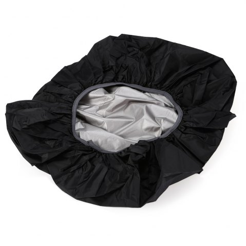 Outfits 55 - 60L Dustproof Backpack Cover Water Resistant Camping Accessories - BLACK  Mobile