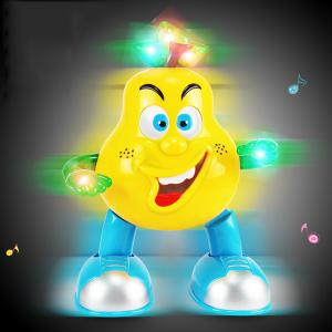Walking Dance Pear with Light Children Intelligent Toy - 1pc -