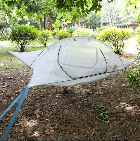 Outfits Camping Suspended Hammock with 220kg Loading / 190T Nylon Cover COLORMIX