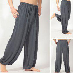 Men Loose Fit Modal Fitness Sports Yoga Pajama Pants
