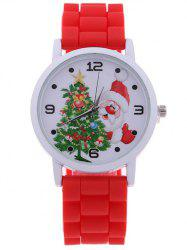 Santa Christmas Tree Quartz Watch