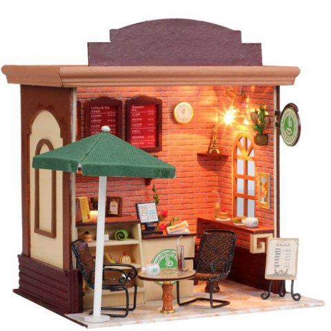 Fancy Doll House LOZ ABS Street View Architecture Building Block Educational Movie Product Kid Toy -   Mobile
