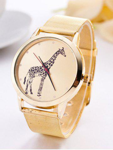 Best Giraffe Steel Band Quartz Watch