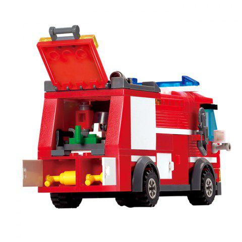 Buy 206pcs ABS Building Block Fire Engine Model DIY for Kids - COLORMIX  Mobile
