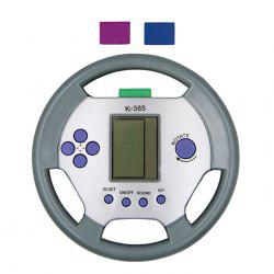 Steering Wheel Shape Tetris Game Console with Pause Function -