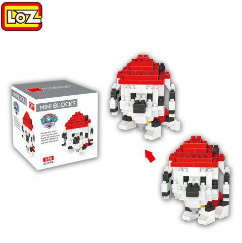 Affordable LOZ ABS 221Pcs Dog Style Building Block Educational Toy Birthday Present