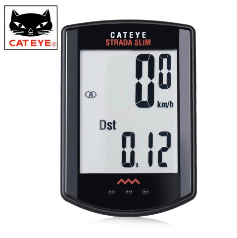 Shops CATEYE Strada Slim CC - RD310W Wireless Bike Computer Bicycle Stopwatch -   Mobile