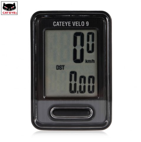 Affordable CATEYE VELO 9 CC - VL820 Economic Wired Bike Computer Bicycle Stopwatch 9 Functions -   Mobile
