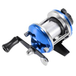 Fish Tackle Fishing Baitcasting Reel with 50m Line