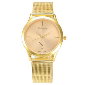 Vintage Alloy Watchband Quartz Watch