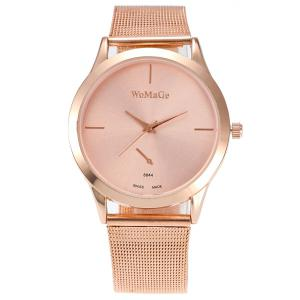 Vintage Alloy Watchband Quartz Watch - ROSE GOLD