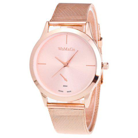 Best Vintage Alloy Watchband Quartz Watch ROSE GOLD