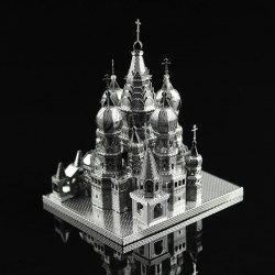 ZOYO 3D Metal Architecture Style Metallic Building Puzzle Educational Toy -