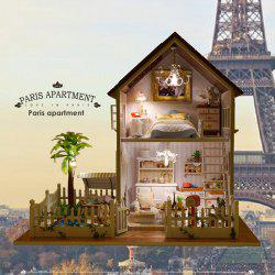 DIY Wooden House Furniture Handcraft Miniature Kit