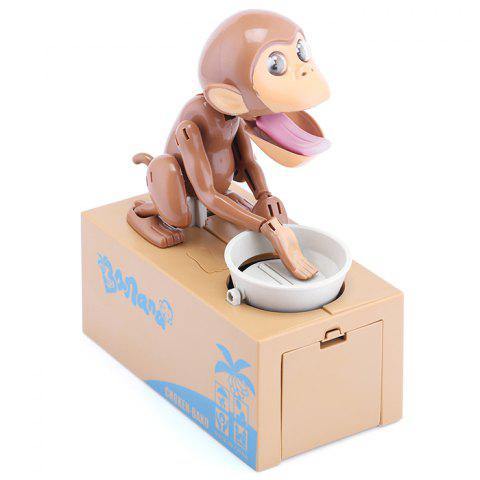 Outfits Creative Electric Steal / Eat Money Monkey Coins / Piggy Bank with Sound Effects