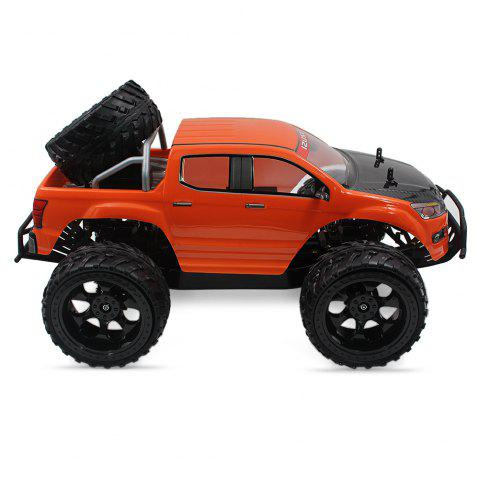 Store DOUBLE STAR 990A 1:10 4WD Off-road RC Truck RTR 25km/h 2.4GHz 4CH 390 Motor Spare Tire - ORANGE  Mobile