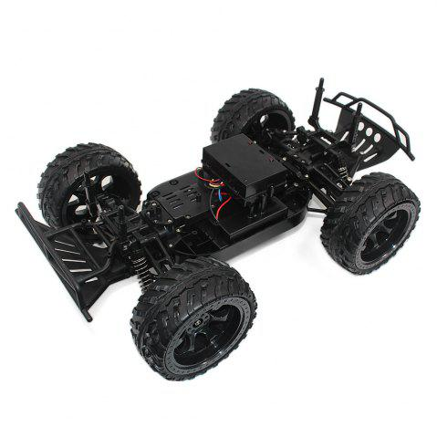 Hot DOUBLE STAR 990A 1:10 4WD Off-road RC Truck RTR 25km/h 2.4GHz 4CH 390 Motor Spare Tire - ORANGE  Mobile