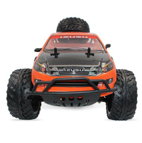 Online DOUBLE STAR 990A 1:10 4WD Off-road RC Truck RTR 25km/h 2.4GHz 4CH 390 Motor Spare Tire - ORANGE  Mobile