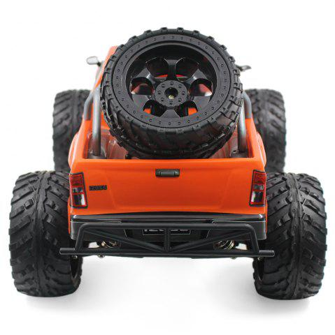 Shop DOUBLE STAR 990A 1:10 4WD Off-road RC Truck RTR 25km/h 2.4GHz 4CH 390 Motor Spare Tire - ORANGE  Mobile