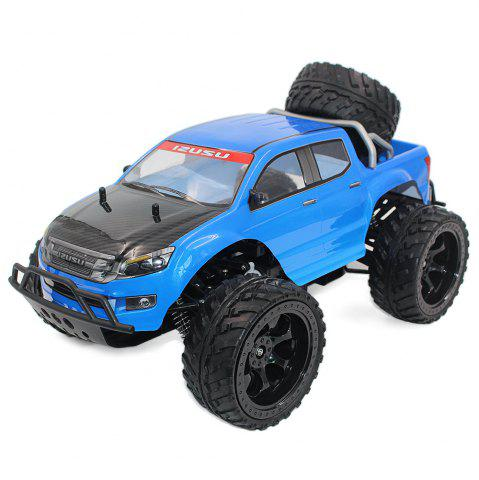 Shop DOUBLE STAR 990A 1:10 4WD Off-road RC Truck RTR 25km/h 2.4GHz 4CH 390 Motor Spare Tire - BLUE  Mobile
