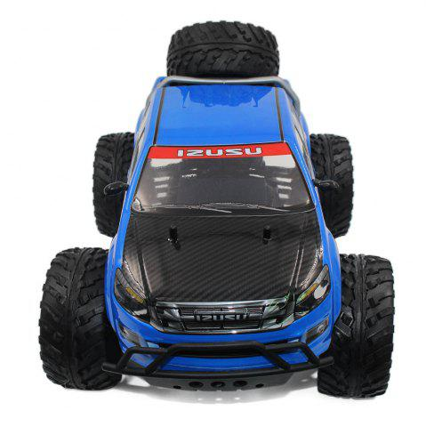 Store DOUBLE STAR 990A 1:10 4WD Off-road RC Truck RTR 25km/h 2.4GHz 4CH 390 Motor Spare Tire - BLUE  Mobile