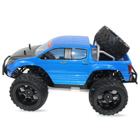 Hot DOUBLE STAR 990A 1:10 4WD Off-road RC Truck RTR 25km/h 2.4GHz 4CH 390 Motor Spare Tire - BLUE  Mobile