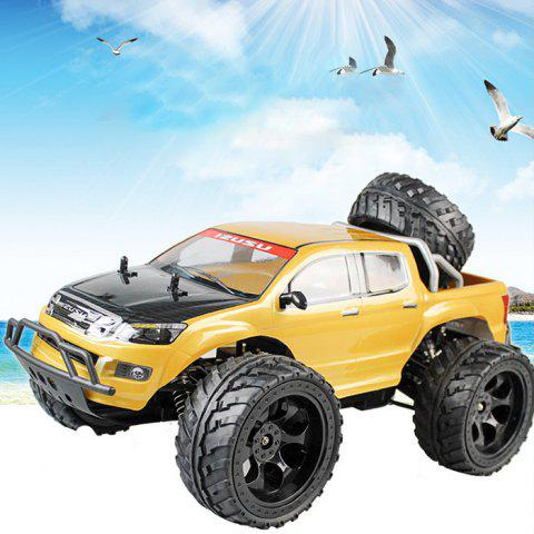 Store DOUBLE STAR 990A 1:10 4WD Off-road RC Truck RTR 25km/h 2.4GHz 4CH 390 Motor Spare Tire - YELLOW  Mobile