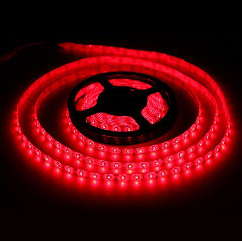Chic 5m 60 x SMD 3528 / Meter 1500LM Cuttable Adhesive Red LED Light Strip ( 30W DC 12V )