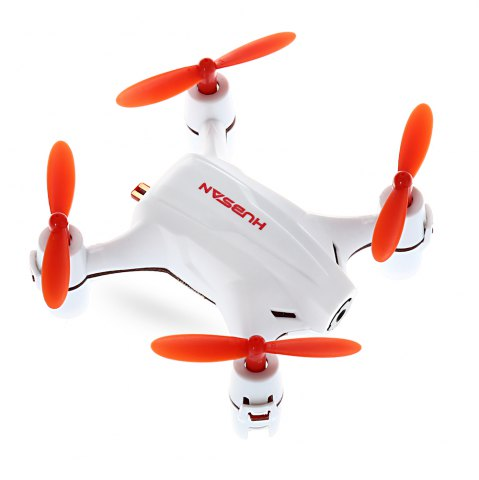 Chic HUBSAN H002 0.3MP 2.4GHz 4CH 6 Axis Gyro Nano Brushed RC Quadcopter with Headless Mode -   Mobile