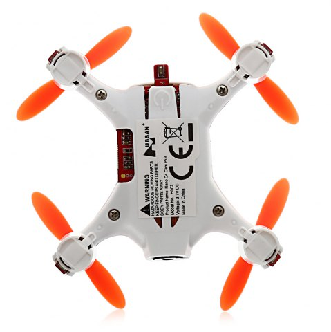 Latest HUBSAN H002 0.3MP 2.4GHz 4CH 6 Axis Gyro Nano Brushed RC Quadcopter with Headless Mode -   Mobile