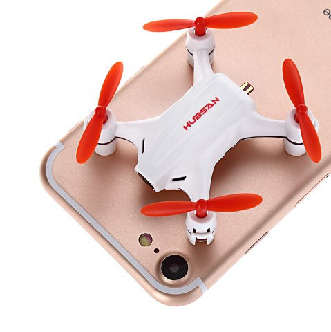 Hot HUBSAN H002 0.3MP 2.4GHz 4CH 6 Axis Gyro Nano Brushed RC Quadcopter with Headless Mode -   Mobile