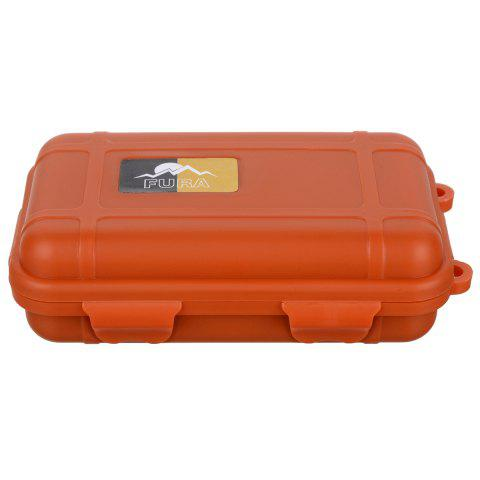 Store FURA Small Water Resistant Sealed Storage Case Box Anti-shock Camping Gear - ORANGE  Mobile