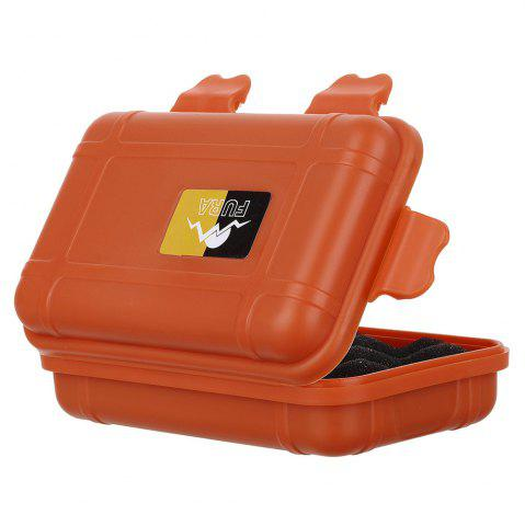 Affordable FURA Small Water Resistant Sealed Storage Case Box Anti-shock Camping Gear - ORANGE  Mobile