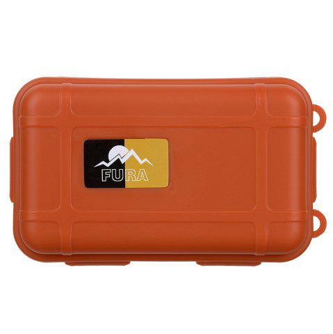 New FURA Small Water Resistant Sealed Storage Case Box Anti-shock Camping Gear - ORANGE  Mobile