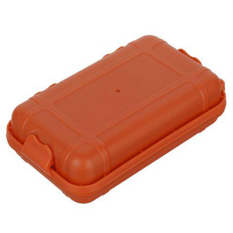 Shop FURA Small Water Resistant Sealed Storage Case Box Anti-shock Camping Gear - ORANGE  Mobile