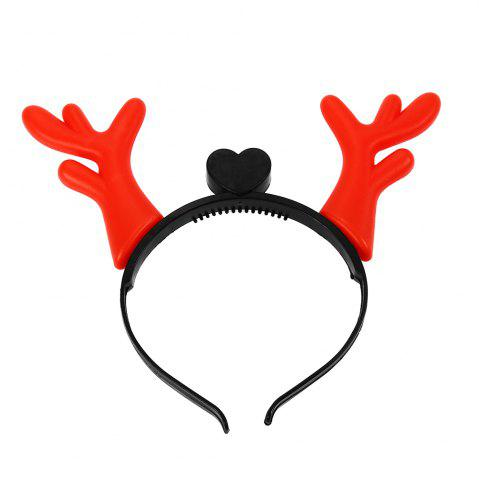 Fashion 1PC Creative Christmas Antler LED Light Hair Band - COLORMIX  Mobile
