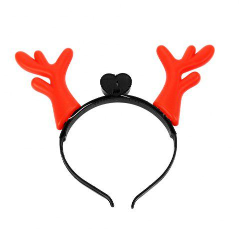 Hot 1PC Creative Christmas Antler LED Light Hair Band - COLORMIX  Mobile