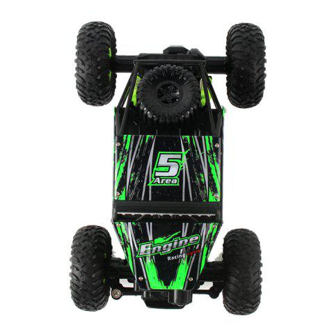 Latest WLtoys 18428 - B 1:18 4WD RC Climbing Car 2.4GHz 4CH 9km/h Proportional Controlled All Terrain Vehicle - GREEN  Mobile