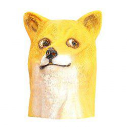 Internet Meme Doge Head Mask for Costume Party Entertainment -