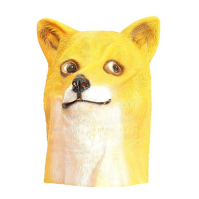 Fashion Internet Meme Doge Head Mask for Costume Party Entertainment