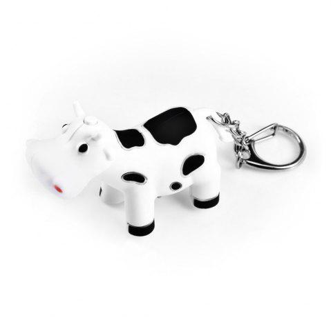 Outfit Ox Style Key Chain Hanging Pendant ABS Voice LED Light Control Bag Decoration