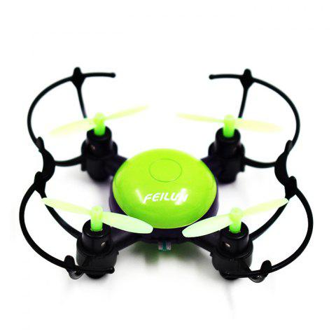 Shop FEILUN FX133 Mini RC Drone RTF 2.4GHz 4CH 6-axis Gyro with Headless Mode 360 Degree Eversion