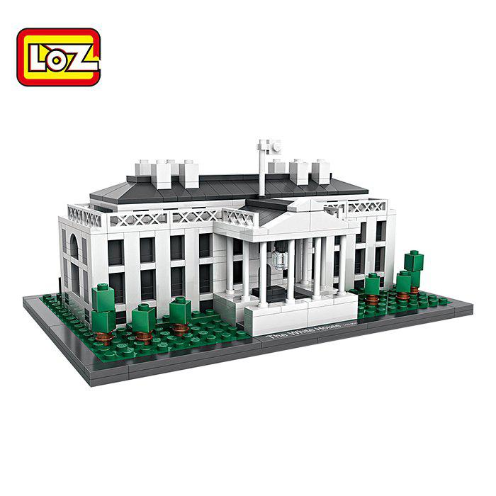 Hot LOZ ABS Architecture Building Block Educational Movie Product Kid Toy - 588pcs
